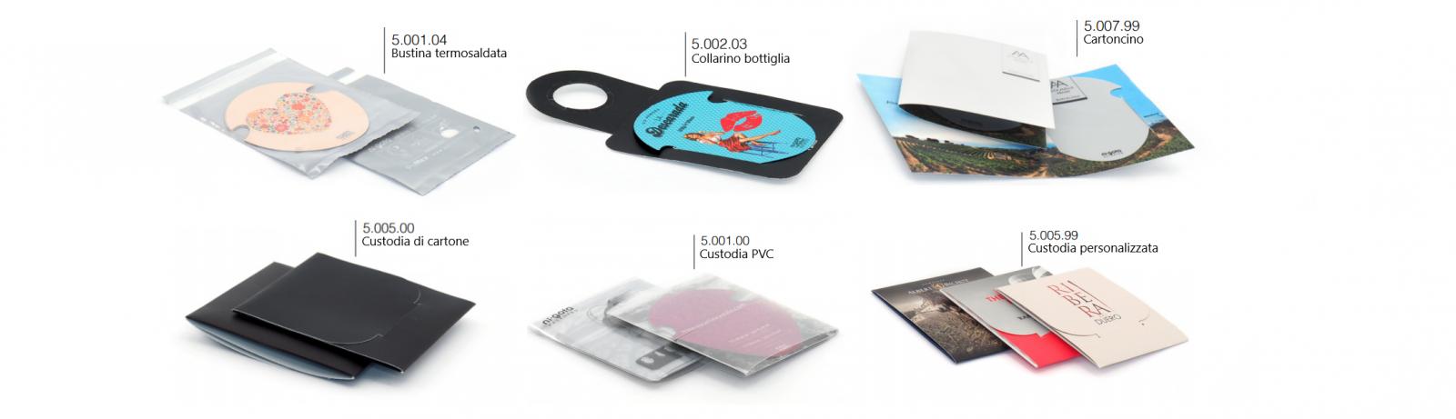Salvagoccia Packaging